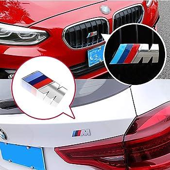 Per X3 X4 X5 X6 2000-2019 3DM Performance Emblema distintivo griglia anteriore lettera adesivo fissaggio