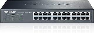 TP-Link 24-Port Gigabit Ethernet Unmanaged Switch | Plug and Play | Desktop/Rackmount | Fanless | Limited Lifetime (TL-SG1024D)