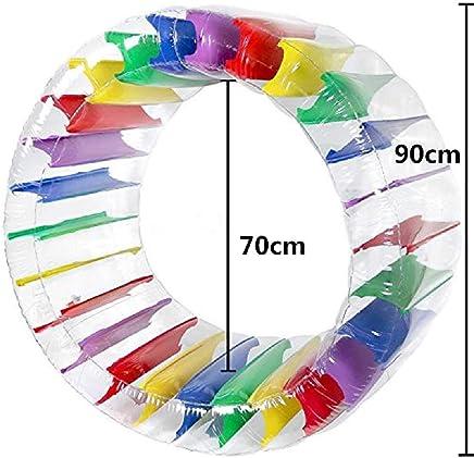 CHINCI Flotador de Rueda de Agua Inflable para niños 36 Pulgadas Grandes Bola Hombres y Juguetes de Hierba de Juguete de la Piscina de Las Mujeres 36 Pulgadas/Color