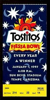 1997 Fiesta Bowl Ticket Texas Longhorns v Penn State Nittany Lions 1/1/97 41940