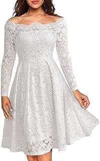 Amazon.es: Blanco - Vestidos / Mujer: Ropa