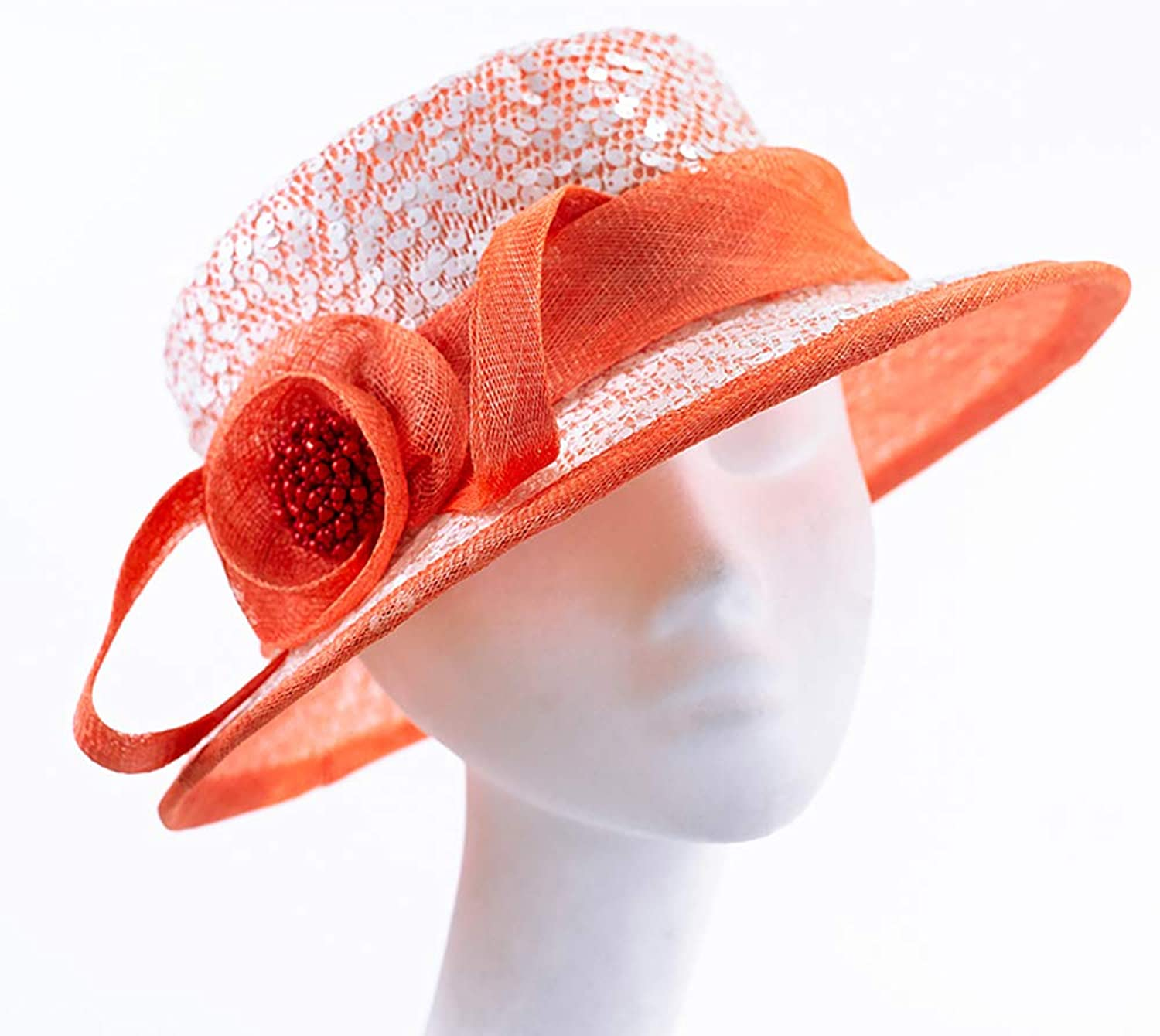 ESOCOME Top Hat Spring and Summer Female Hat England Hat Woman Sun Hat