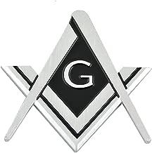 Best chrome masonic car emblems Reviews