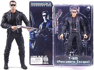 CQ Terminator 2: T-800 (Pistola de cañón Doble) Figura de la Figura de acción de la película de la Obra Maestra Collector Toys