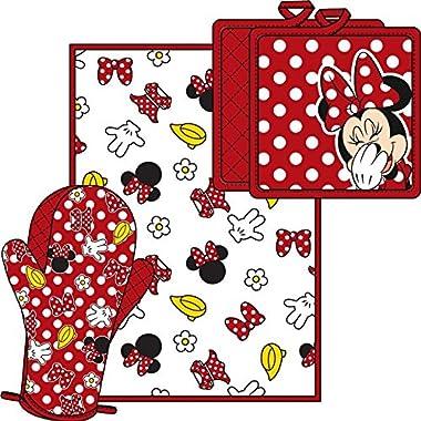 Minnie Parts  Disney Minnie Mouse 3 Piece Kitchen Set