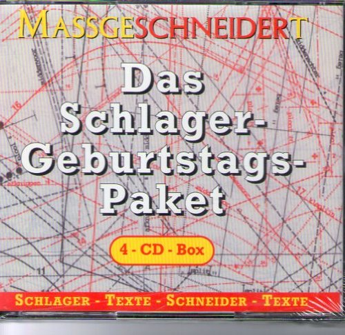 MassgeSCHNEIDERt / Das Schlager Geburtstags-Paket