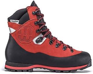 Shoes zapatos Schuhe chaussures TREEMME Scarpone scarpa Trekking in pelle scamosciata e fascione in gomma suola VIBRAM in ...
