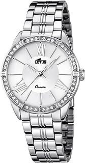 Lotus Reloj Analógico para Mujer de Cuarzo con Correa en Acero Inoxidable 18130/1