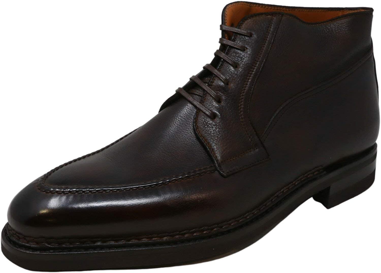 Bontoni Men's Campagna Ankle-High Leather Oxford
