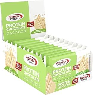 Premier Protein Premier Protein Chocolate White Hazelnut 20x40g - Chocolate con Alto Contenido en Proteínas 1 Unidad 800 g