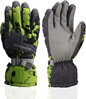 Ski Gloves, Waterproof Winter Breathable Warm Gloves, Cold Snowboard Gloves,Fits Both Men & Women
