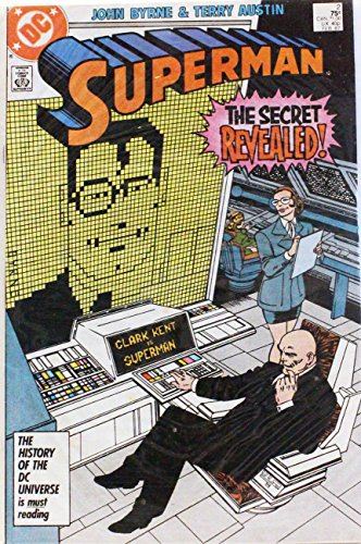 Superman comic book 'The Secret Revealed' - No. 2, Feb 1987
