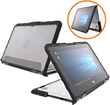 Gumdrop DropTech Case Designed for The HP Elitebook x360 1030 G2 2-in-1 Laptop for Commercial, Business and Office Essentials - Black, Shock Absorbing, Rugged, Extreme Drop Protection