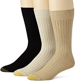 Men's Canterbury Dress Sock (2 PK (6 PAIRS) 10-13,...