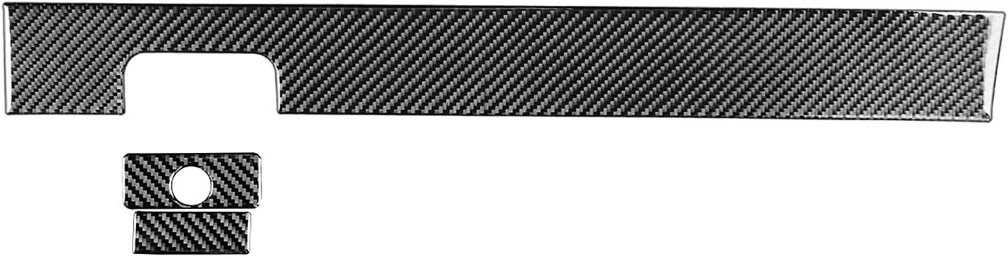 FacoryyGGBC Car Accessories 3 PCS Genuine Fiber Carbon Co-Pilot Max 77% OFF Set