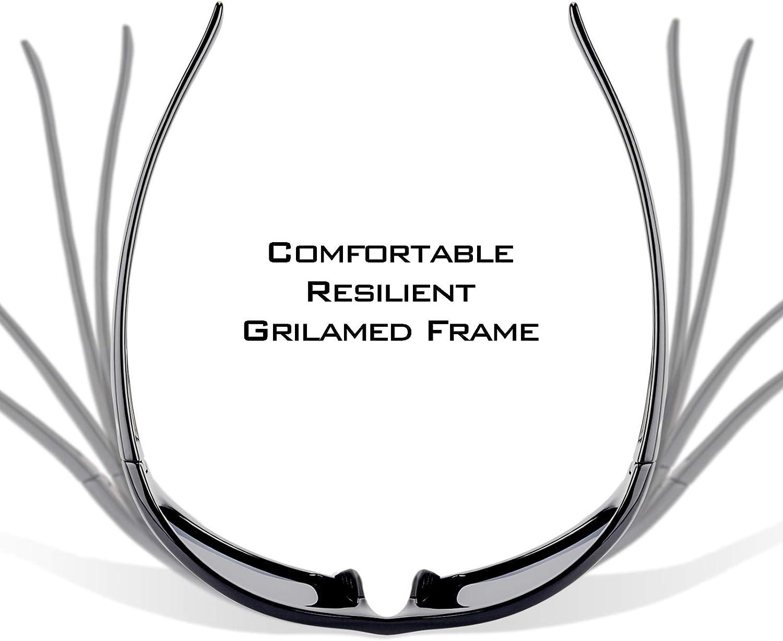 KastKing Seneca Polarized Sport Sunglasses for Men and Women, UV Protection