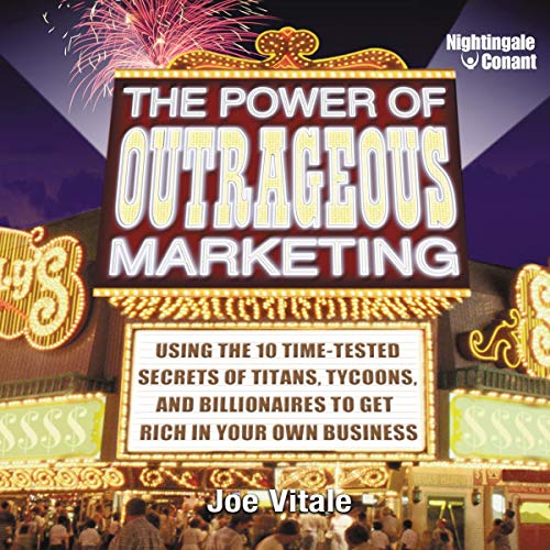 Couverture de The Power of Outrageous Marketing