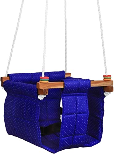 Ashish Baby Swing Indoor/Outdoor/Baby Jhula/Baby Garden Swing/Baby Hanging Swing/Baby Cloth Cradle/Swing for Baby and...
