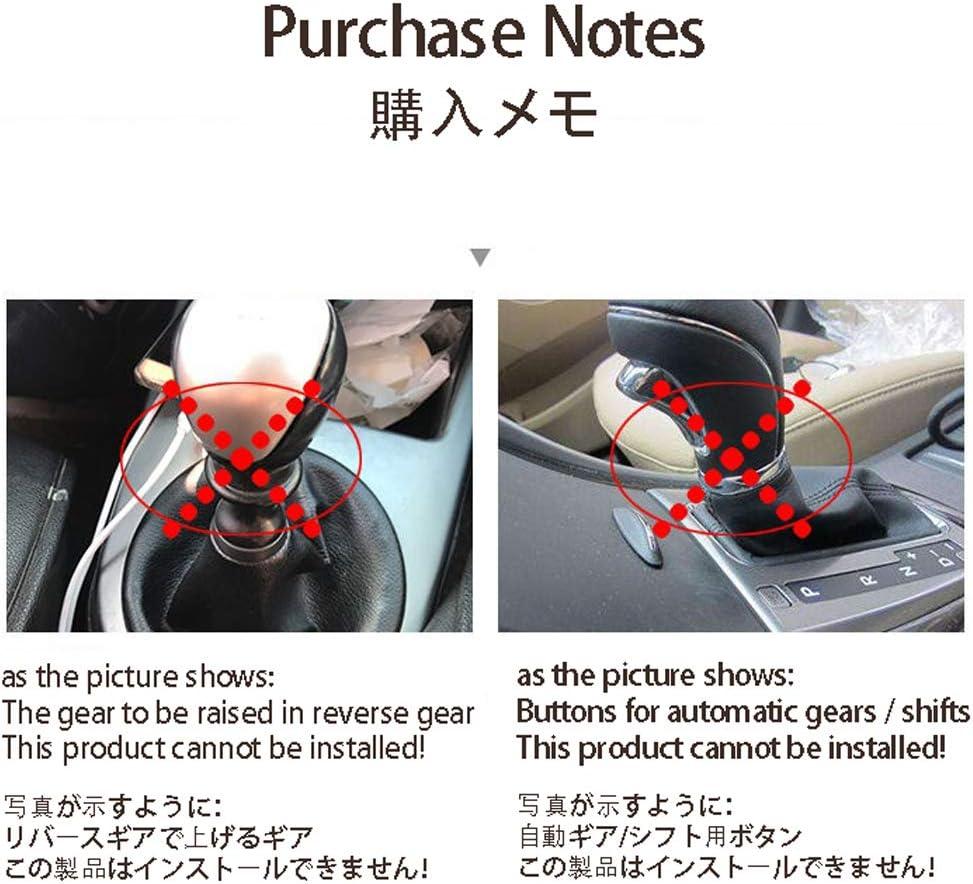 Manual Gear Shift Knob Multicolor Universal Car Aluminum Stick Manual Transmission Gearstick Lever Shifter Knob