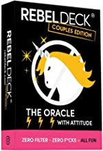 REBEL DECK Couples Edition - The Oracle with Attitude - Oracle Deck (60 Cards)