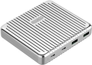Zendure SuperPort 4 Dual USB-C Desktop laddare (robust, 100 W snabbladdningsfunktion för iPhone, MacBook, iPad, Android, N...