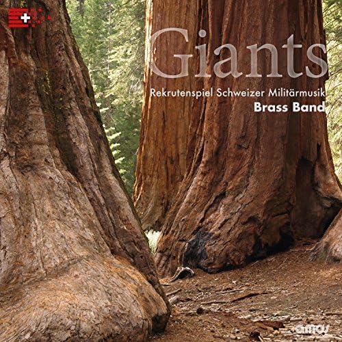 Rekrutenspiel Schweizer Militärmusik - Brass Band & Oblt Jacques-Alain Frank