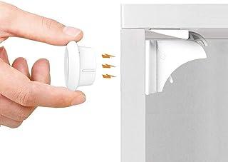 Norjews Baby Sicherheit Magnetisches Schrankschloss(10 Schlösser + 2 Schlüssel) | zum..