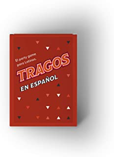 Tragos en Español- Party Card Game for Latinos- Relatable Funny Card Game for Adults -Juegos De Mesa para Adultos (Spanish Version)