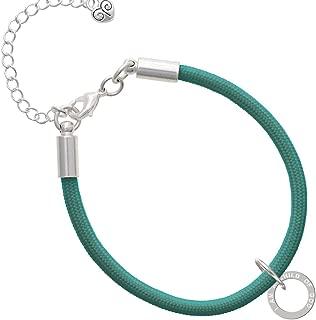 I am a Child of God Eternity Ring Malibu Paracord Bracelet