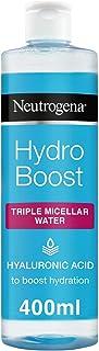 Neutrogena Triple Micellar Water, Hydro Boost Face Cleanser, 400 ml