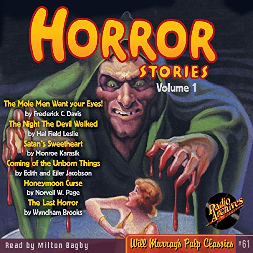 Horror Stories, Volume 1 audiobook cover art