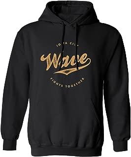 Iowa Wave - City Fights Together Mens Hoodie Hooded Sweatshirt