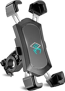 Cocoda Soporte Movil Bicicleta Desmontable, 360° Rotación Soporte Movil Moto, Acero Inoxidable Anti Vibración Soporte Movi...