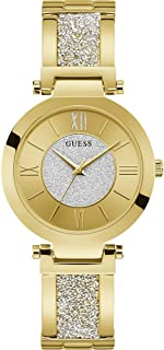Guess Womens Quartz Watch, Analog Display and Stainless Steel Strap W1288L2