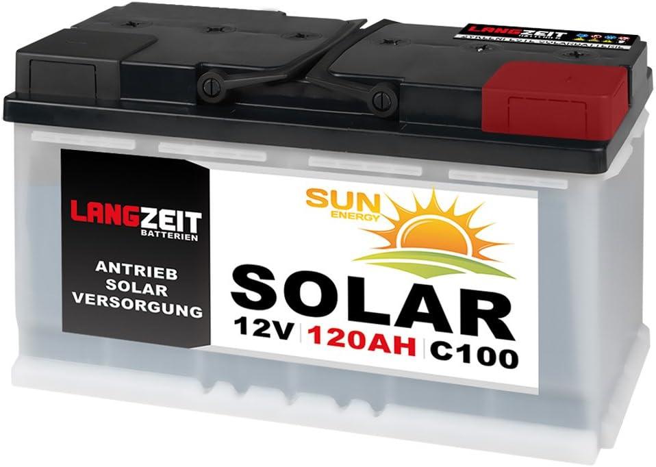 120Ah AGM Solarbatterie AKKU für Photovoltaik Insel oder Solar Anlagen