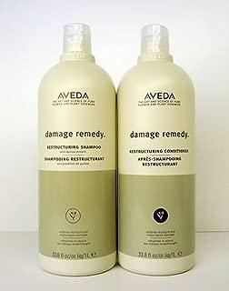 Aveda Damage Remedy Shampoo & Conditioner Liter Duo Set 33.8 oz
