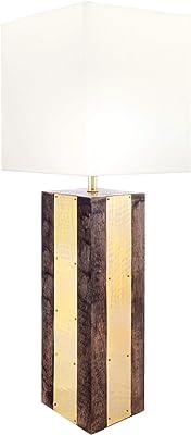 "nuLOOM Chandler 25"" Wood Table Lamp"