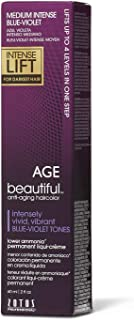 age beautiful intense violet