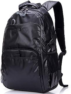 PANFU-AU Water-Repellent Bag,Travel Backpack,College Stylish Daypack School Laptop Backpack 16 Inch Computer Backpack (Color : Black, Size : L)