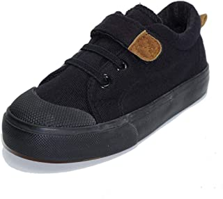 Kids Canvas Casual Sneaker Fashion and Lightweight Loafer Running Tennis Unisex Shoes