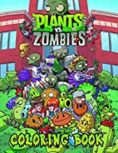 Plants vs Zombies Coloring Book: Funny Plant vs Zombie Coloring Books for Kids and Teens