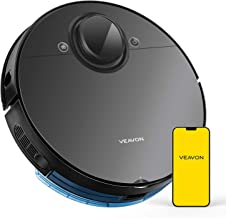 VEAVON V8 Robot Vacuum, Robotic Vacuum Cleaner Smart Mapping 4000Pa Strong Suction Lidar Navigation Wi-Fi Connected 5200mA...