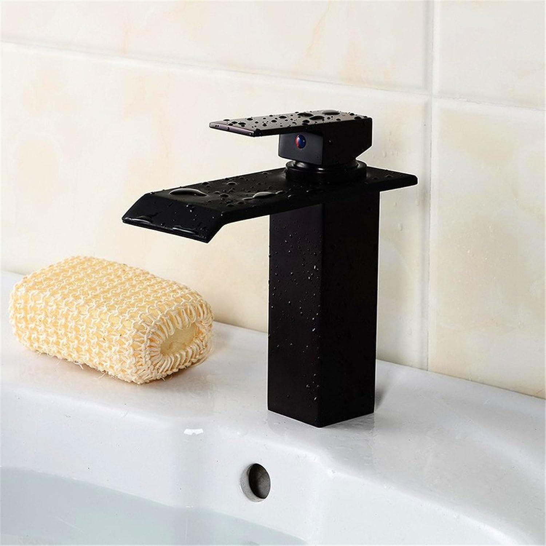 Waschtischarmatur Wasserhahn Mit Sicherheit Und Umweltschutz Warm Und Kalt Waschbecken Wasserhahn Wasserfall Waschbecken Wasserhahn Kreative Persnlichkeit Breiten Mund Mischbatterie (E7E3)