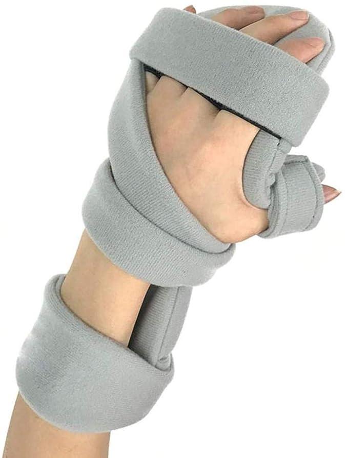 素晴らしいです反発するハイジャックストロークハンドブレース機能的安静時ハンドスプリント指板手首骨折固定指装具リハビリトレーニング機器ホーム右 Improve