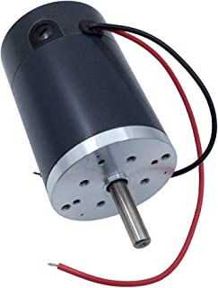 BEMONOC Small DC Motor 12V High Speed 2000/3000/4000/5000 RPM Optional Micro DC Brush Motor