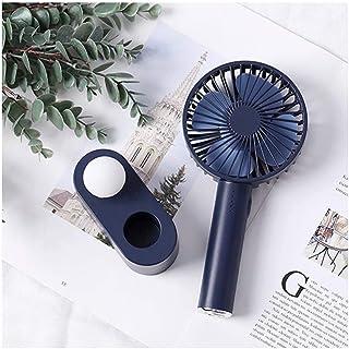CJW Ventilador de Mano de Escritorio - Dormitorio luz de Noche USB de Carga de Escritorio de Oficina silencioso Mini (Colo...