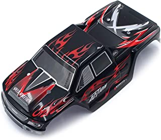 DDLmax RC Car Accessories,Upgraded Part Car Body Shell Cover Case for Wltoys A979 A979-04 1:18 RC Car