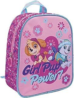d85bceb2bf Perletti - Sac à dos La Pat Patrouille / Paw Patrol / Girl Pup Power - Sac  à dos pour école primaire et maternelle - 24 x 20 x 10 cm - Rose