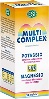 ESI Multicomplex Potasio+ Magnesio Complemento Alimenticio - 90 Tabletas