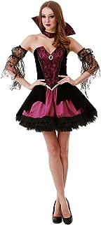 Voluptuous Vampire Women's Halloween Costume Victorian Gothic Countess Dracula